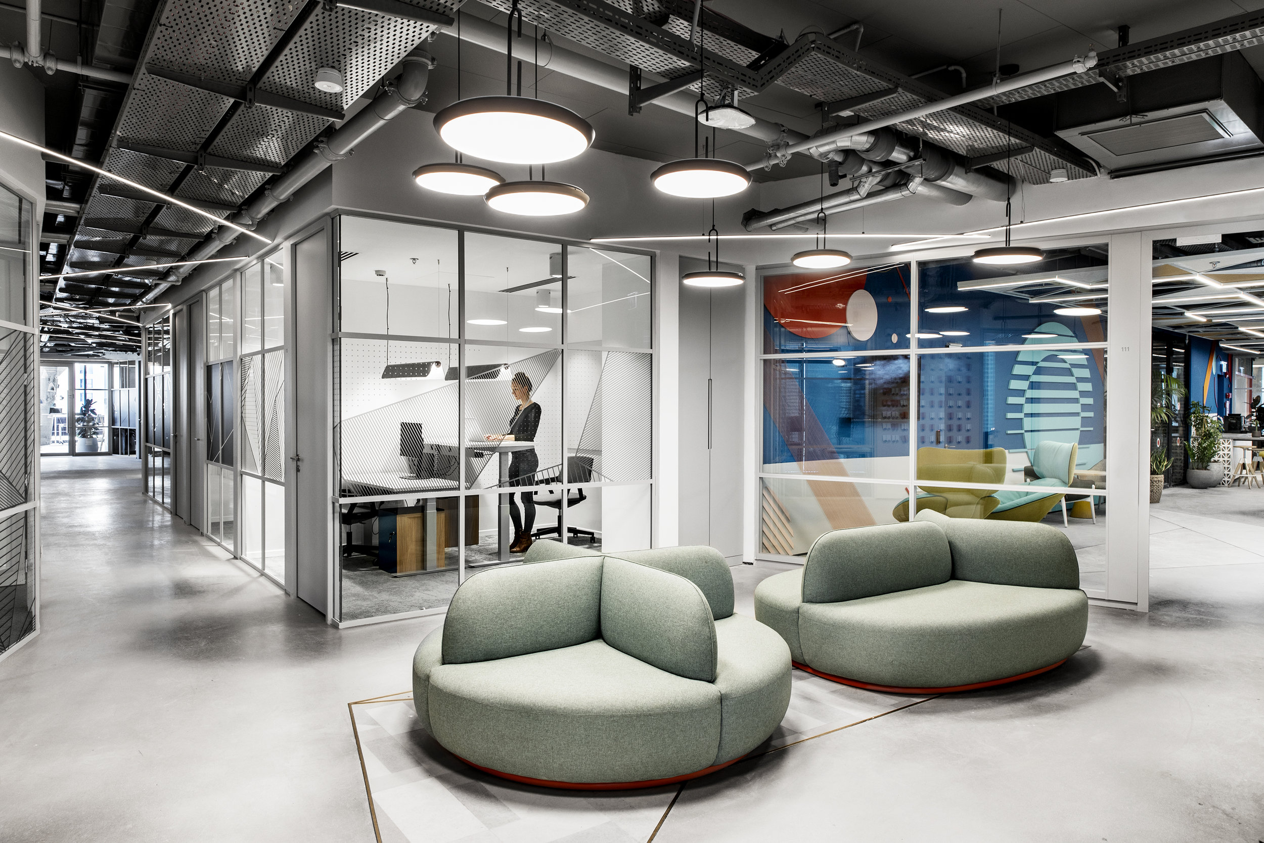 AKAMAI   The 3,500 square meter office occupies the entire floor of the new ToHa Tower in the heart of Tel Aviv's business centre. Roy David Architecture was commissioned to design the offices …