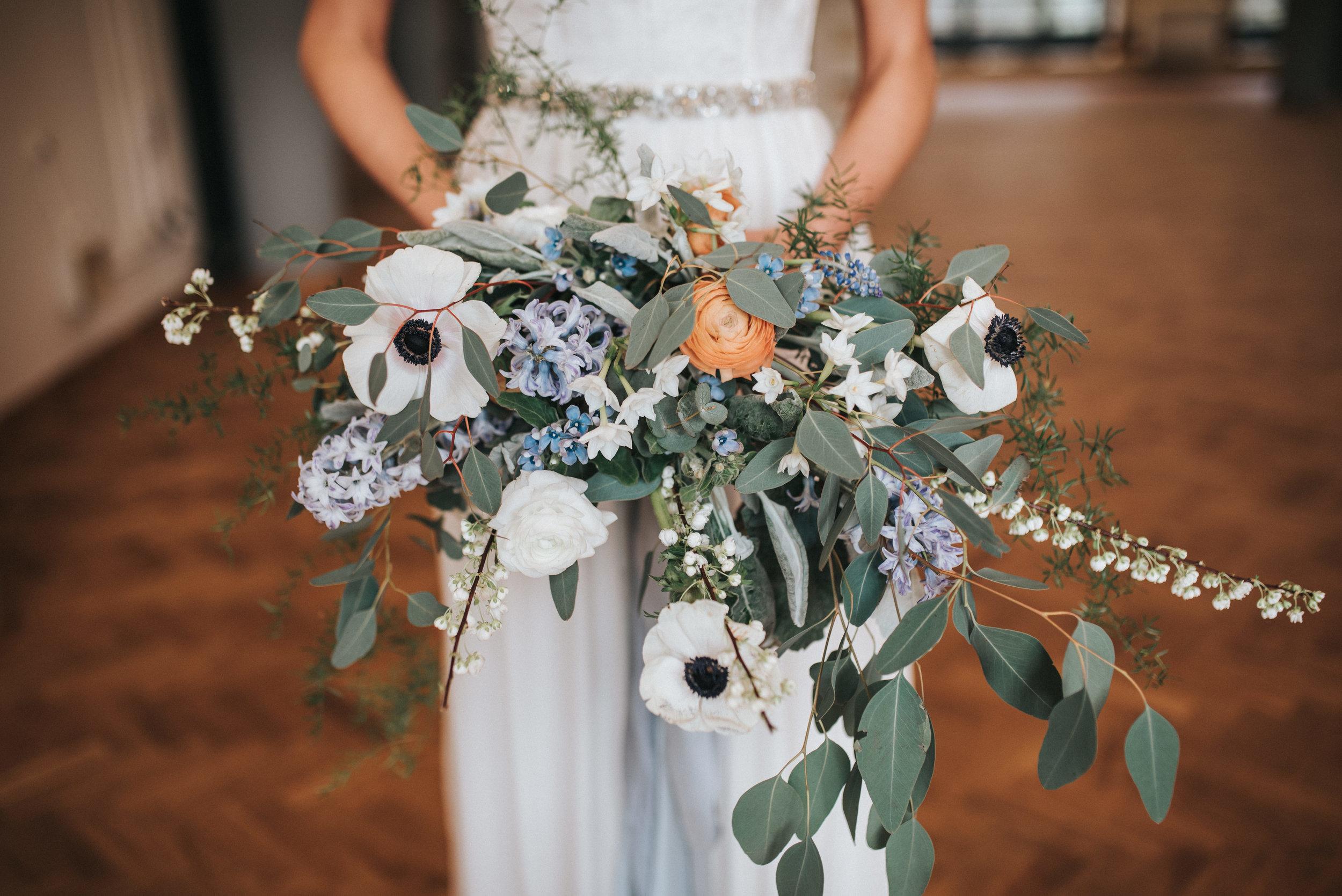 close up of blooms in brides handsPumpingHouseOllerton-167.jpg