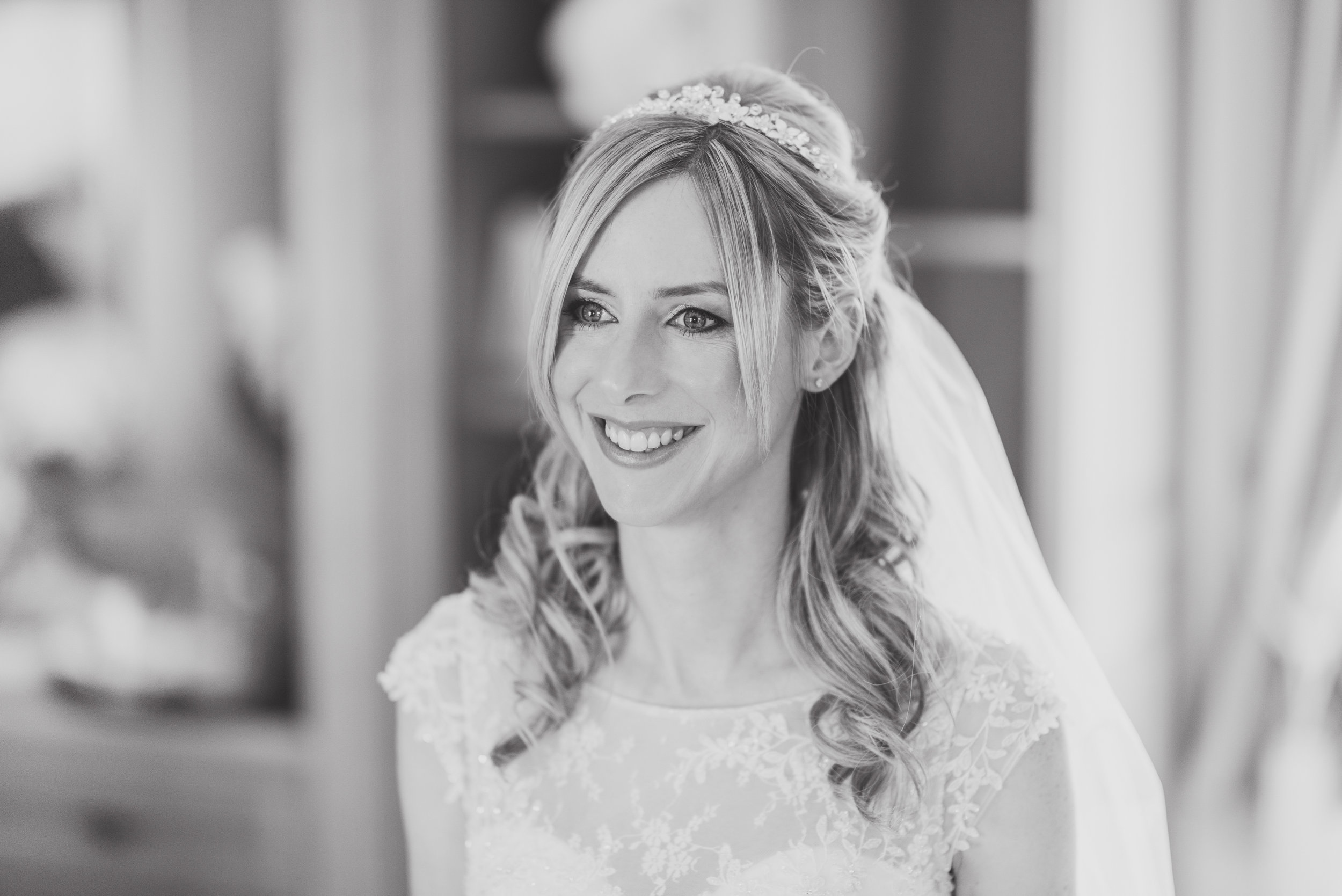 Bridal makeup artist Nottingham wedding day makeup services