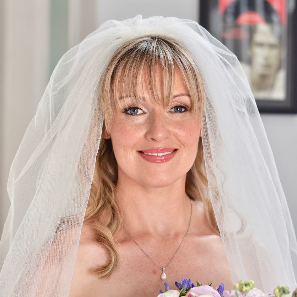 My gorgeous bride Emma on her big day getting married in white with an exquisite look.jpg