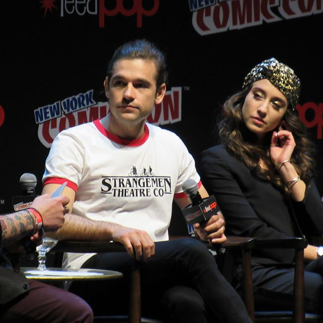 The Magicians had all the feels and covered many thought filled topics. One of the best I've been to. #themagicians #nycc2017