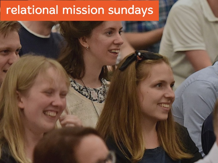 HOLD A RELATIONAL MISSIONSUNDAY - Envision your church and take up an offering for our mission together…
