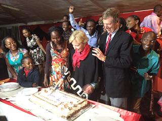 Surprise - EFAC celebrates Nancy's birthday