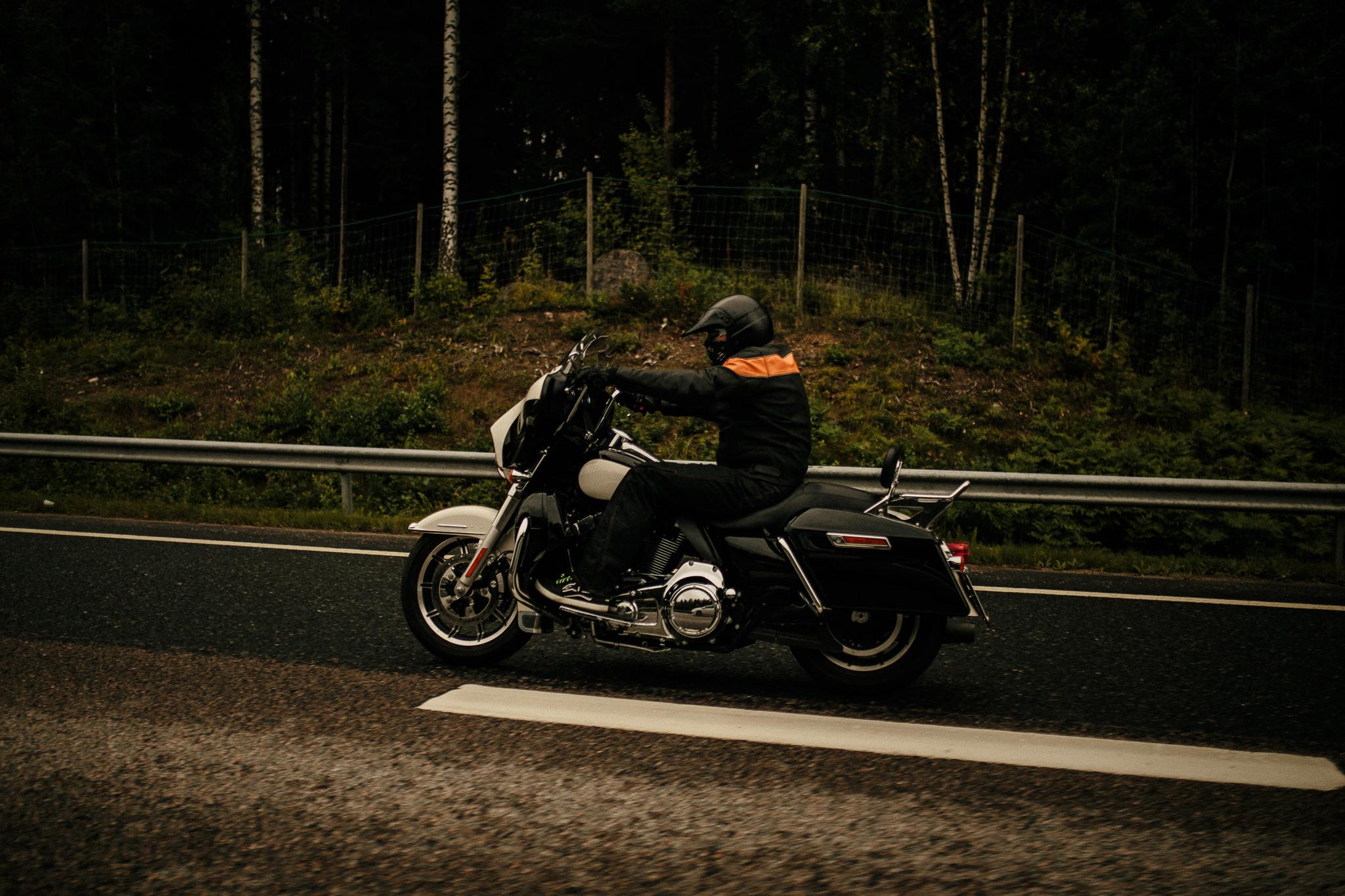 Finland biker