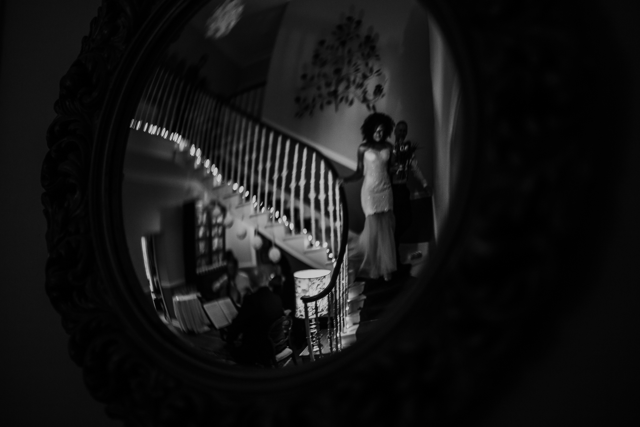 Fine Art Wedding - Non Traditional - Reflection - Fearless Wedding Photographer - Fearless - Mirror & Muse