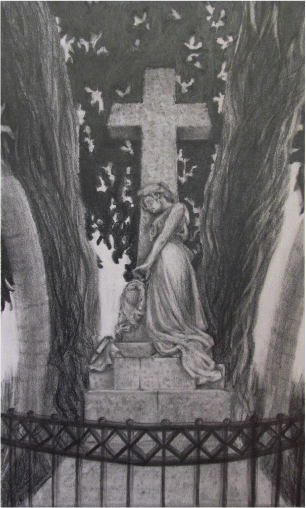 Kordi Schilds, Florence Study Abroad, Graphite, Team Taught, Florence, Italy, Indiana University, 2014