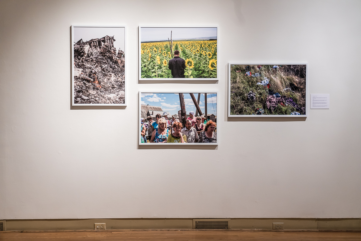 Brotherland: War in Ukraine at the Ukrainian Institute of Modern Art. Chicago, IL. April 2019.
