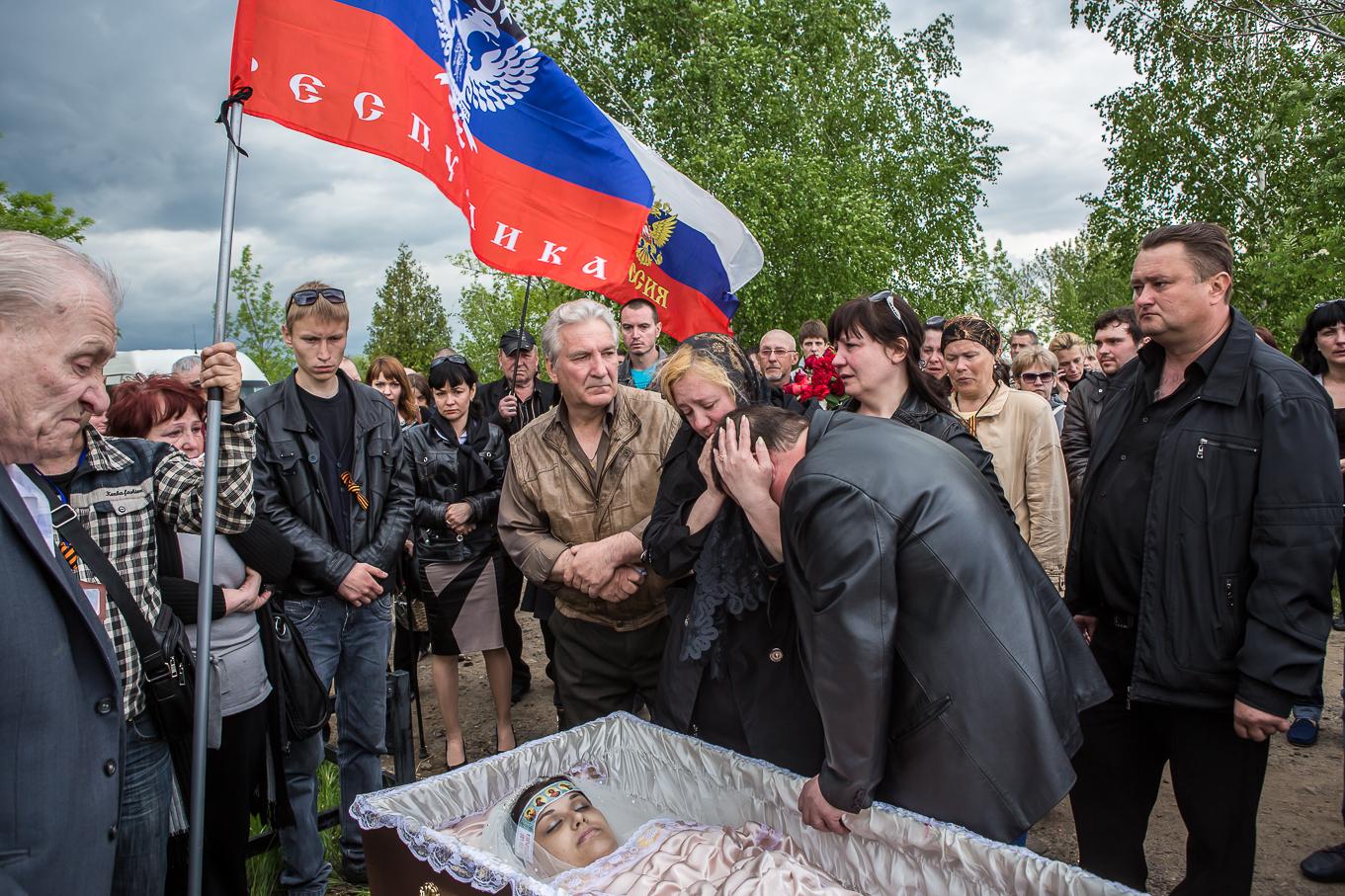 The Funeral of Yulia Izotova