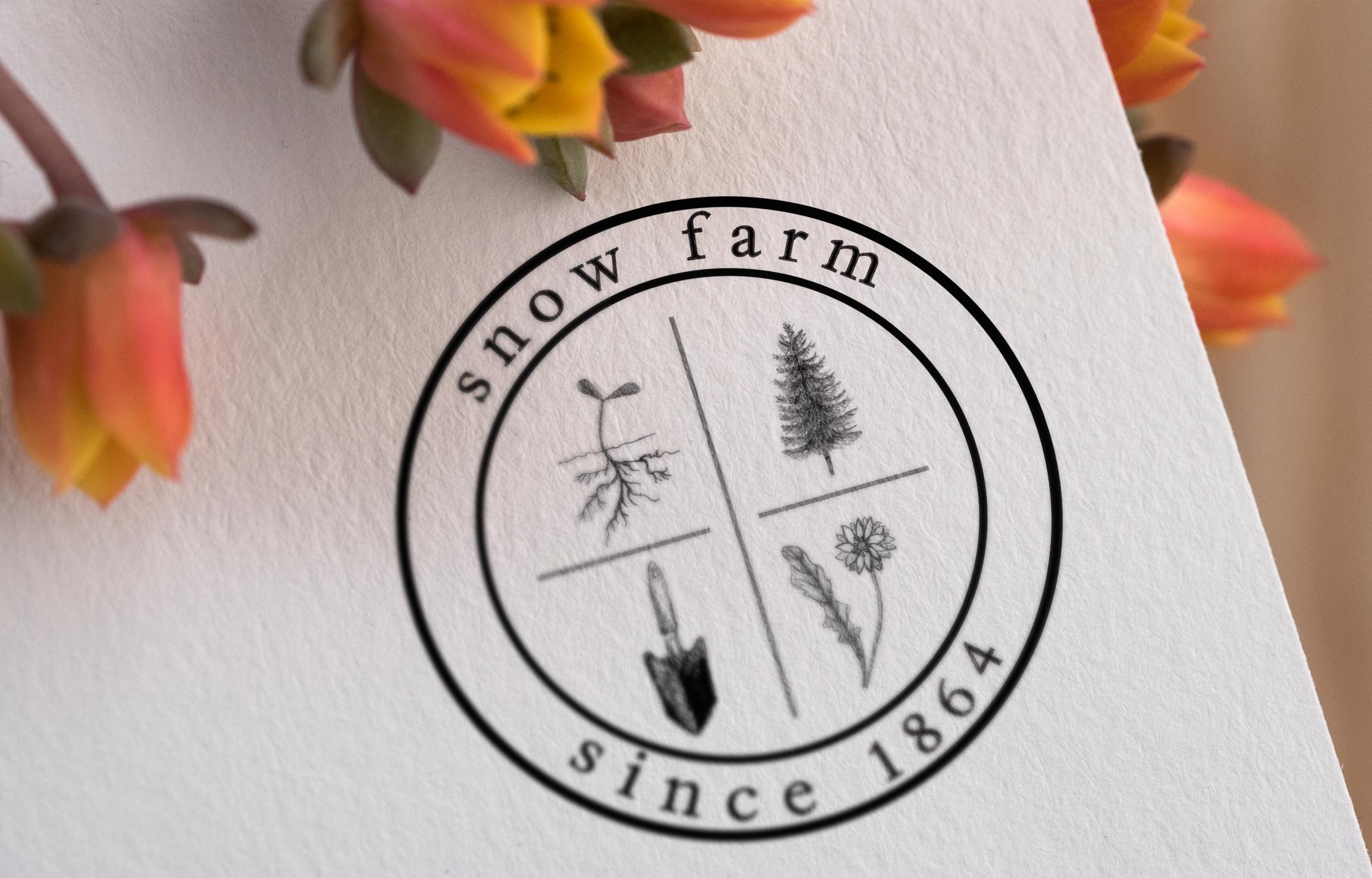 Nature inspired branding, nature inspired logo, flowers logo, planting, harvest, logo design