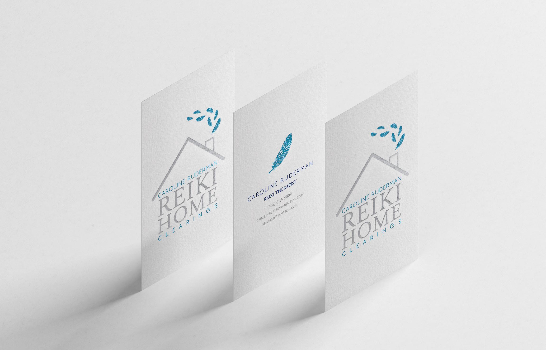 Logo for a reiki business
