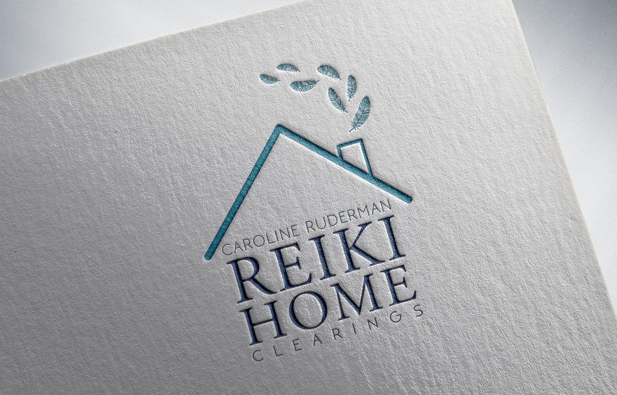 Graphic designer in Northampton, Northampton graphic design, reiki logo, logo designer.