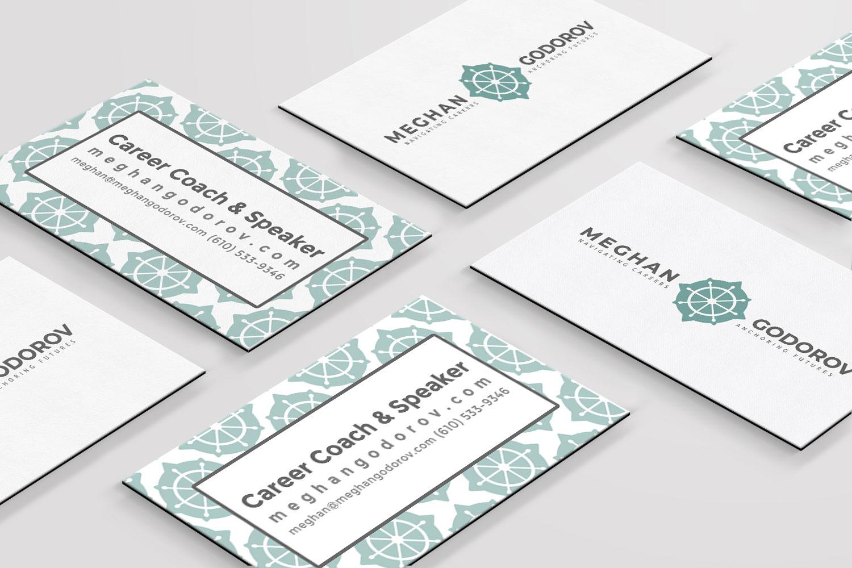 Business card design, by Massachusetts designer, meganalissa.com