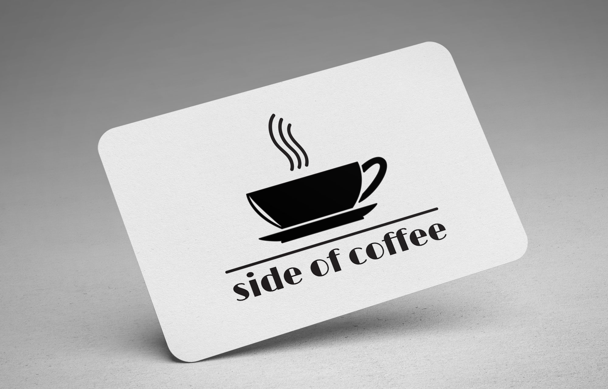 Coffee business branding, logo design, identity designed by megan alissa