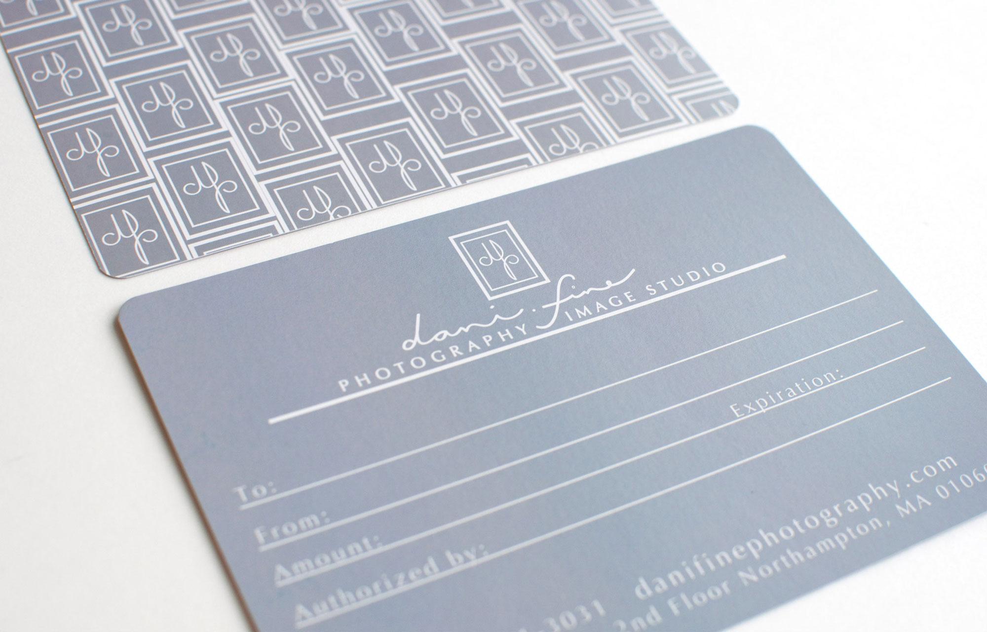 gift certificate design by megan alissa, meganalissa.com