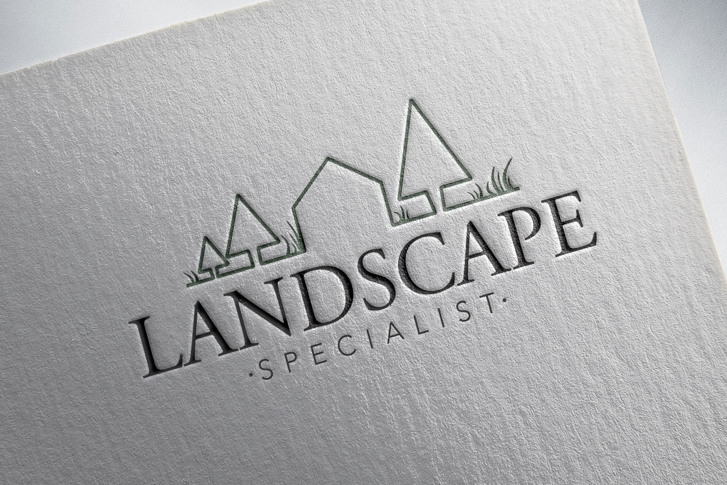 Branding and logo design for an eco friendly landscape company - designed by meganalissa.com