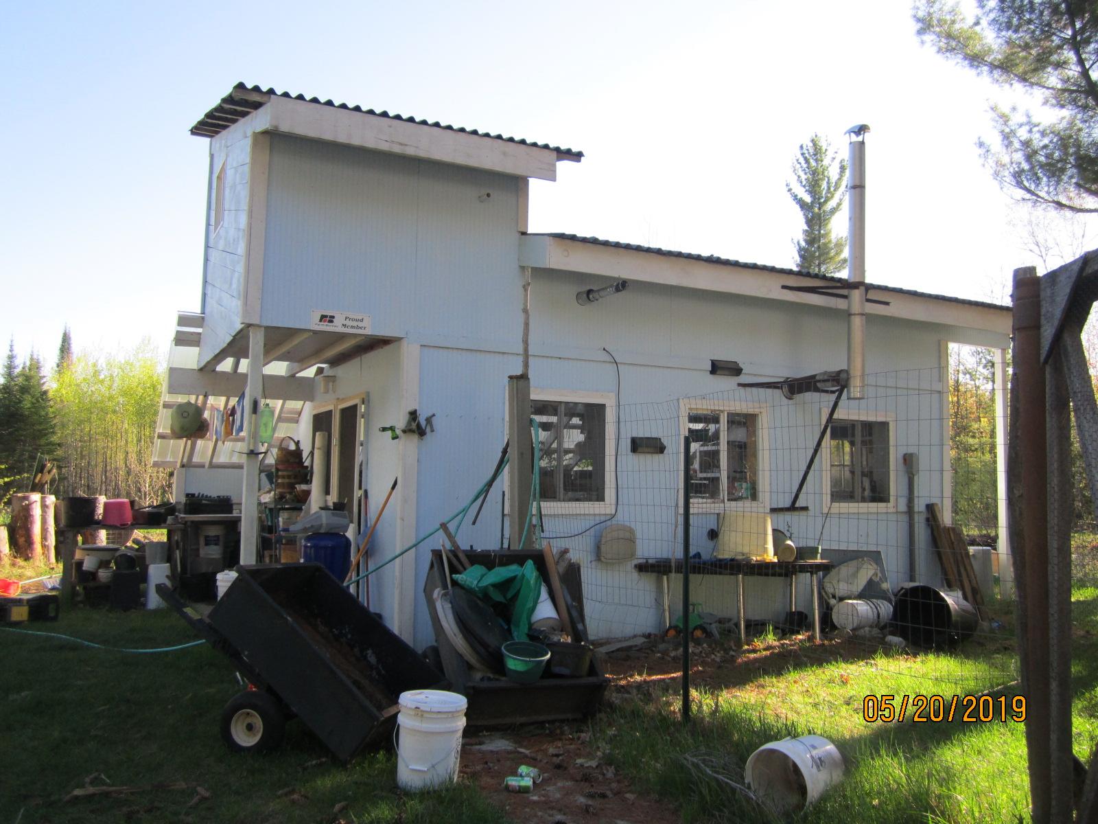 Floodwood River greenhouse-summer kitchen-sugar shack-hunting stand back.JPG