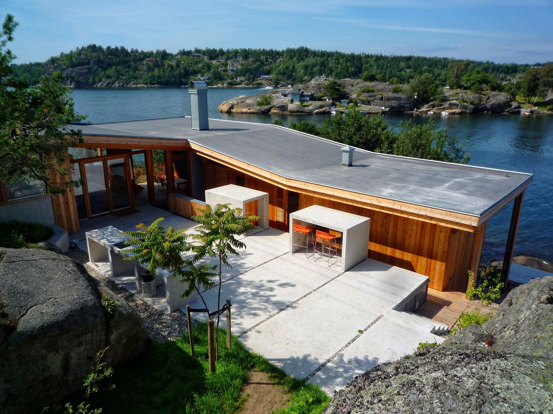 Vi har lang erfaring med bygging av hytter i     SKJÆRGÅRDEN    HYTTEBYGGING