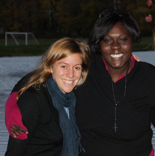 Lauren adelman and Minotte Romulus, co-founders