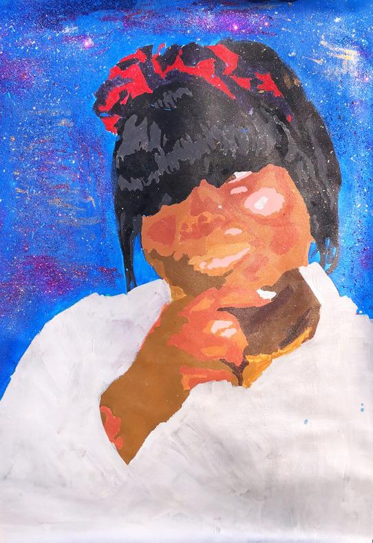 Self Portrait: Khadijah