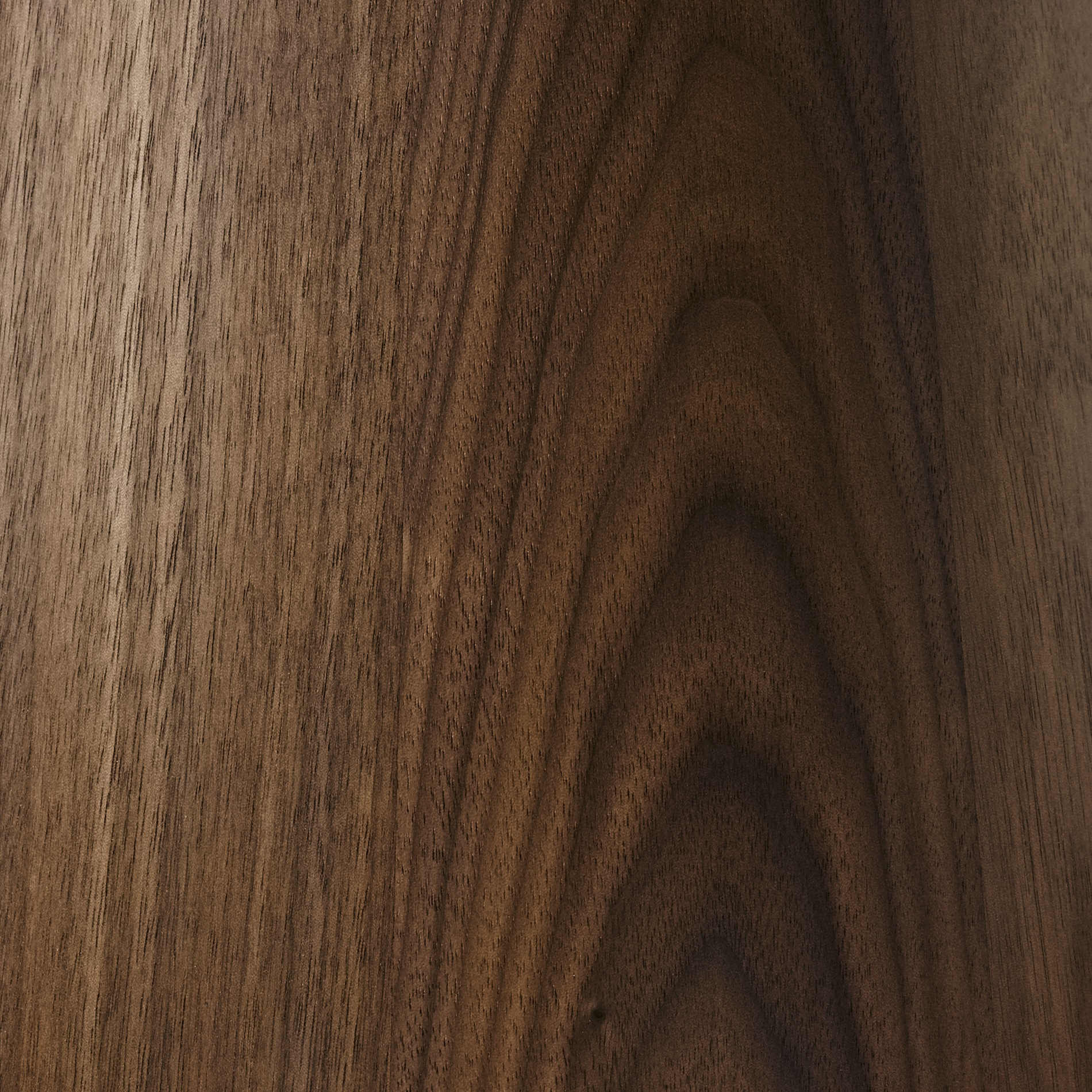 OILED WALNUT - Natural and finished with a clear microporous hard wax / oil