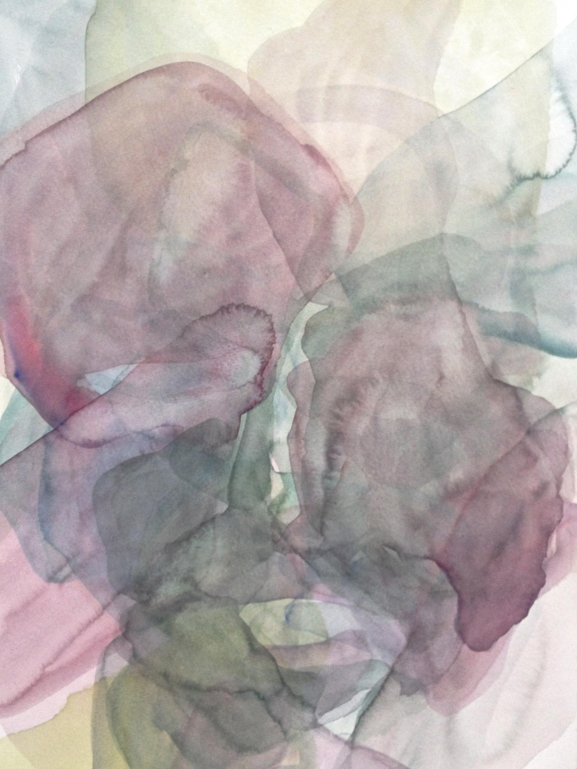 ohne titel, 2014, Aquarell auf Papier, Format A3