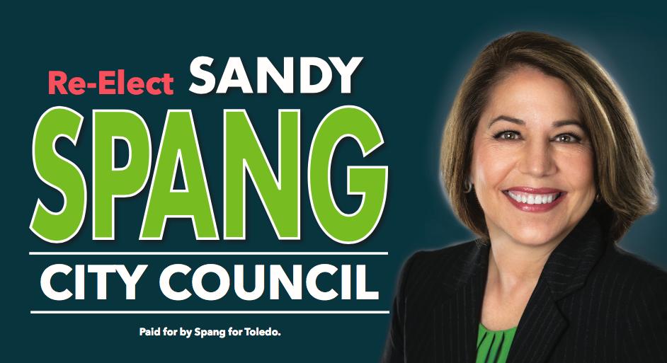 Sandy Spang for Toledo