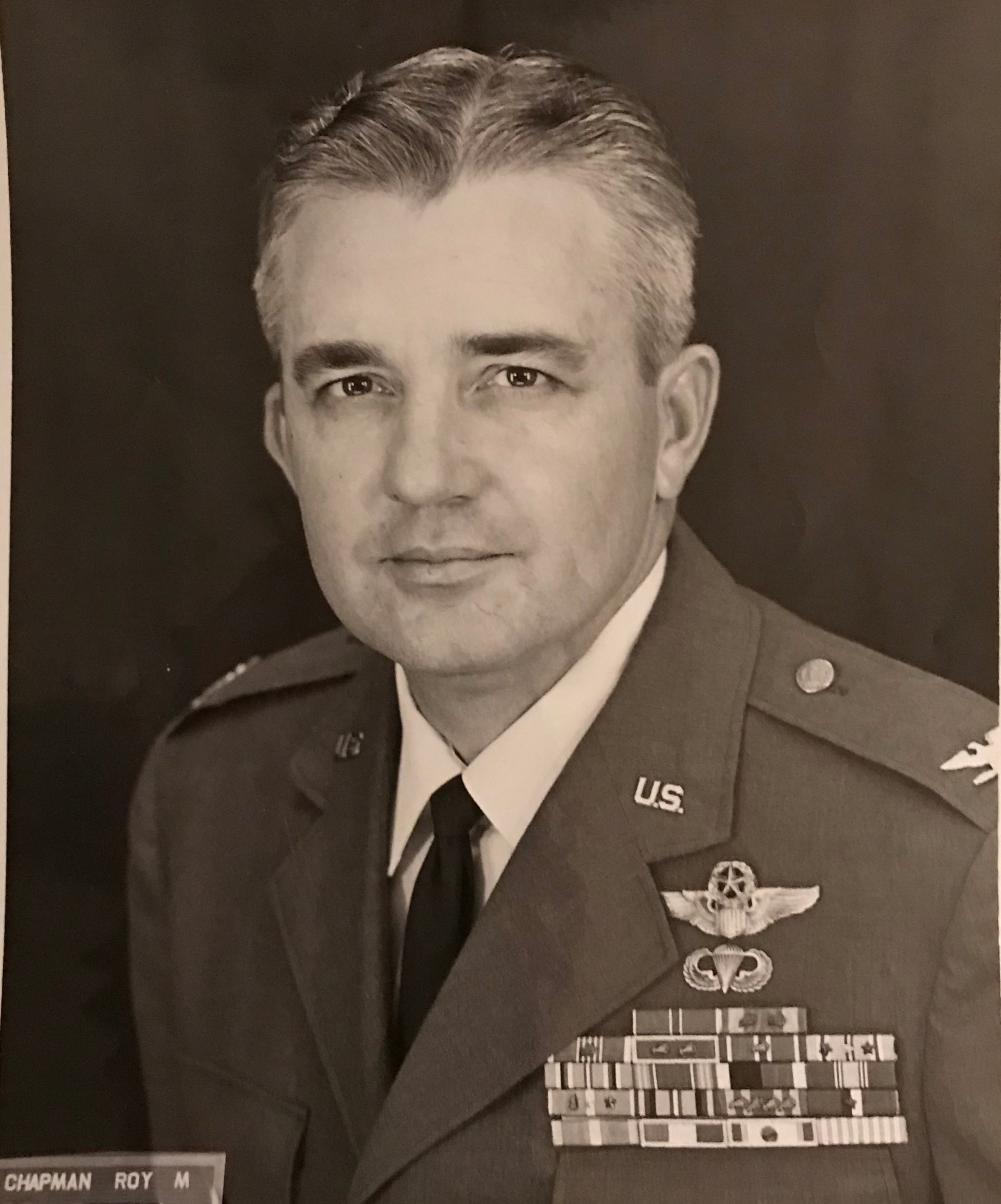 COL Roy M. Chapman - my Grandfather.