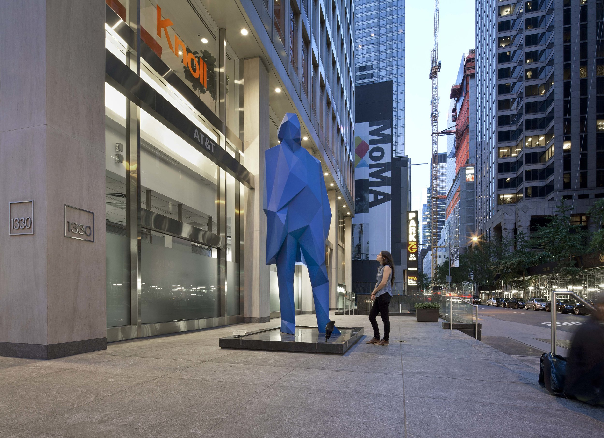 1330 Avenue of the Americas | Xavier Veilhan