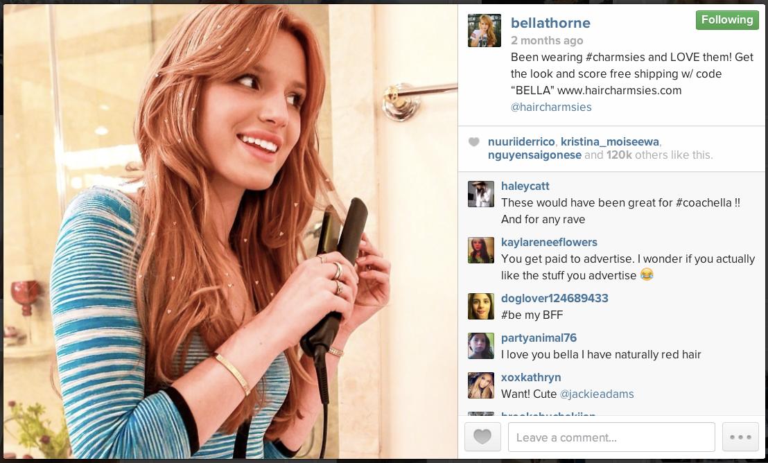 Bella Thorne X Charmsies