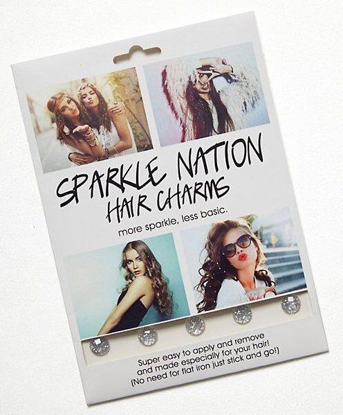 Sparkle Nation Hair Charms