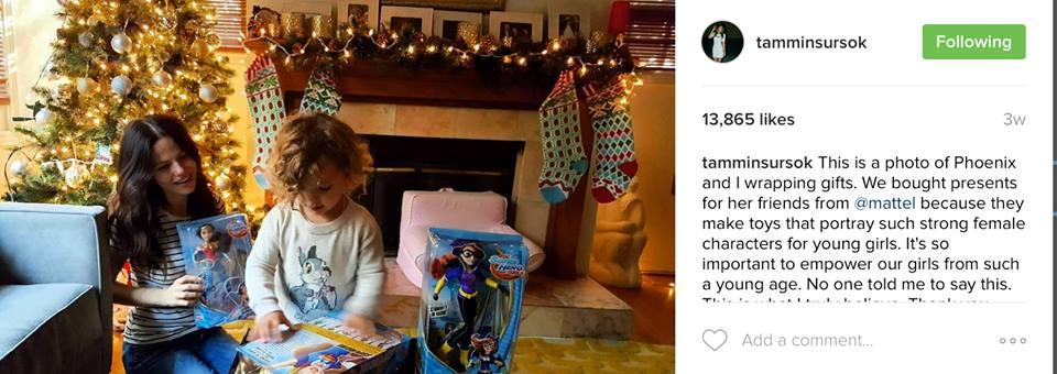 Tammin Sursok X Mattel