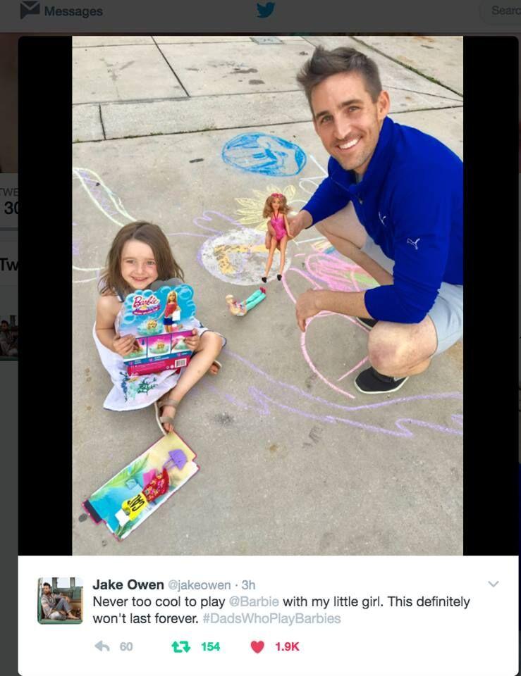 Jake Owen X Dads for Barbie