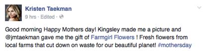 Kristen Taekman X Farm Girl Flowers
