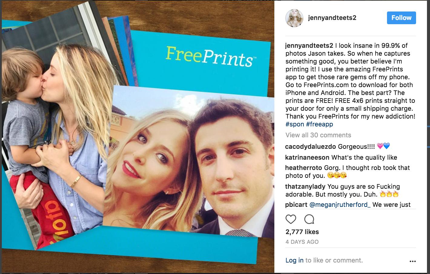 Free Prints x Jenny Mollen