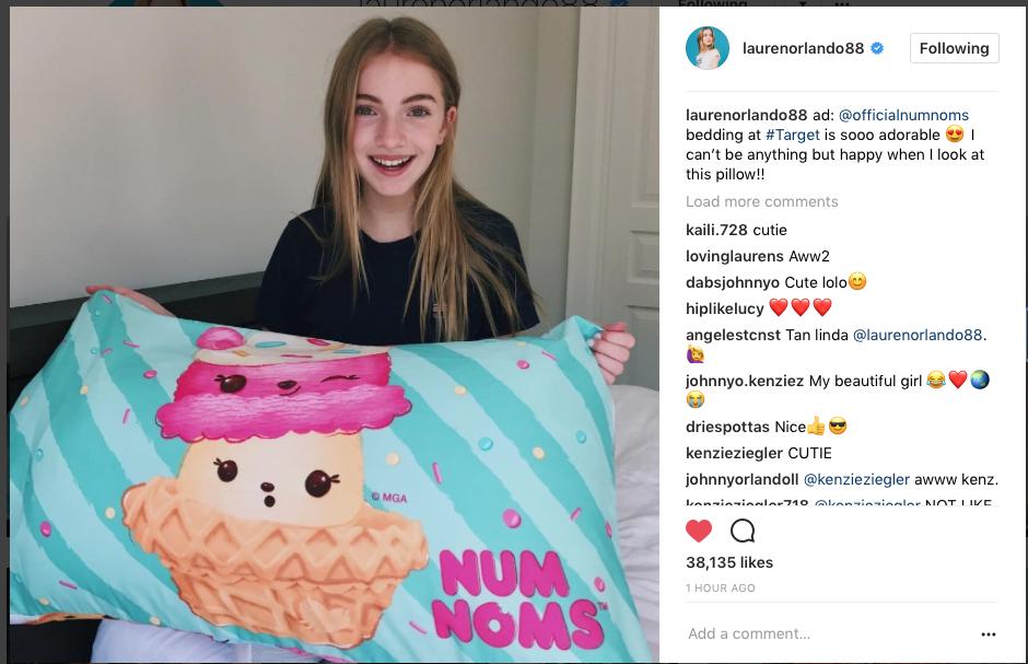 Lauren Orlando x Num Noms