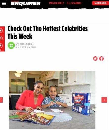 Tia M Elf on the shelf national enquirer.JPG
