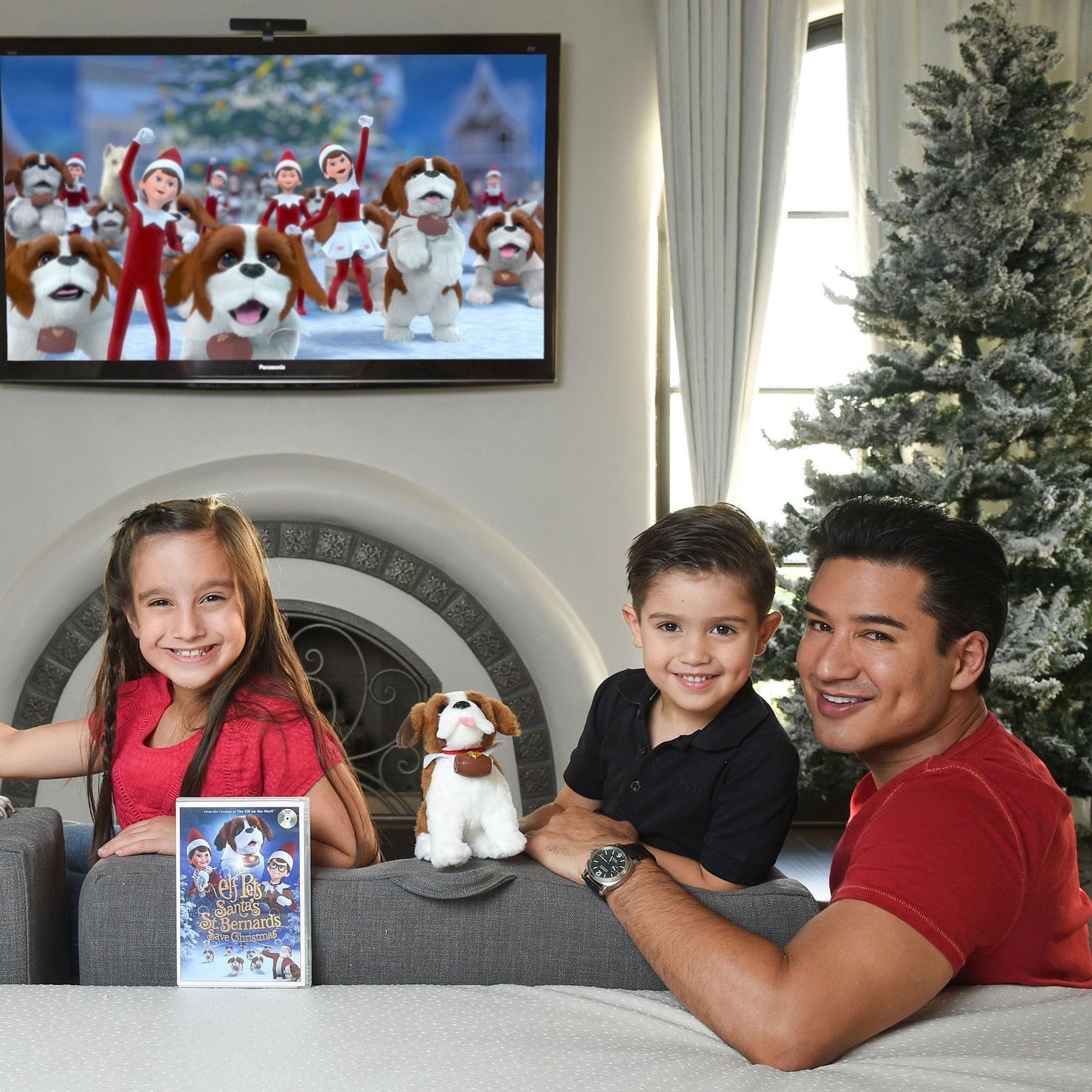 Mario Lopez x Elf On The Shelf