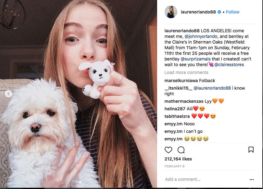 Lauren Orlando x squeezamals