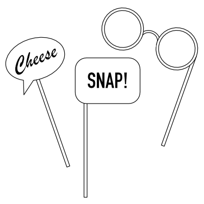 SnapStation offers great props that can even be tailored to your theme,