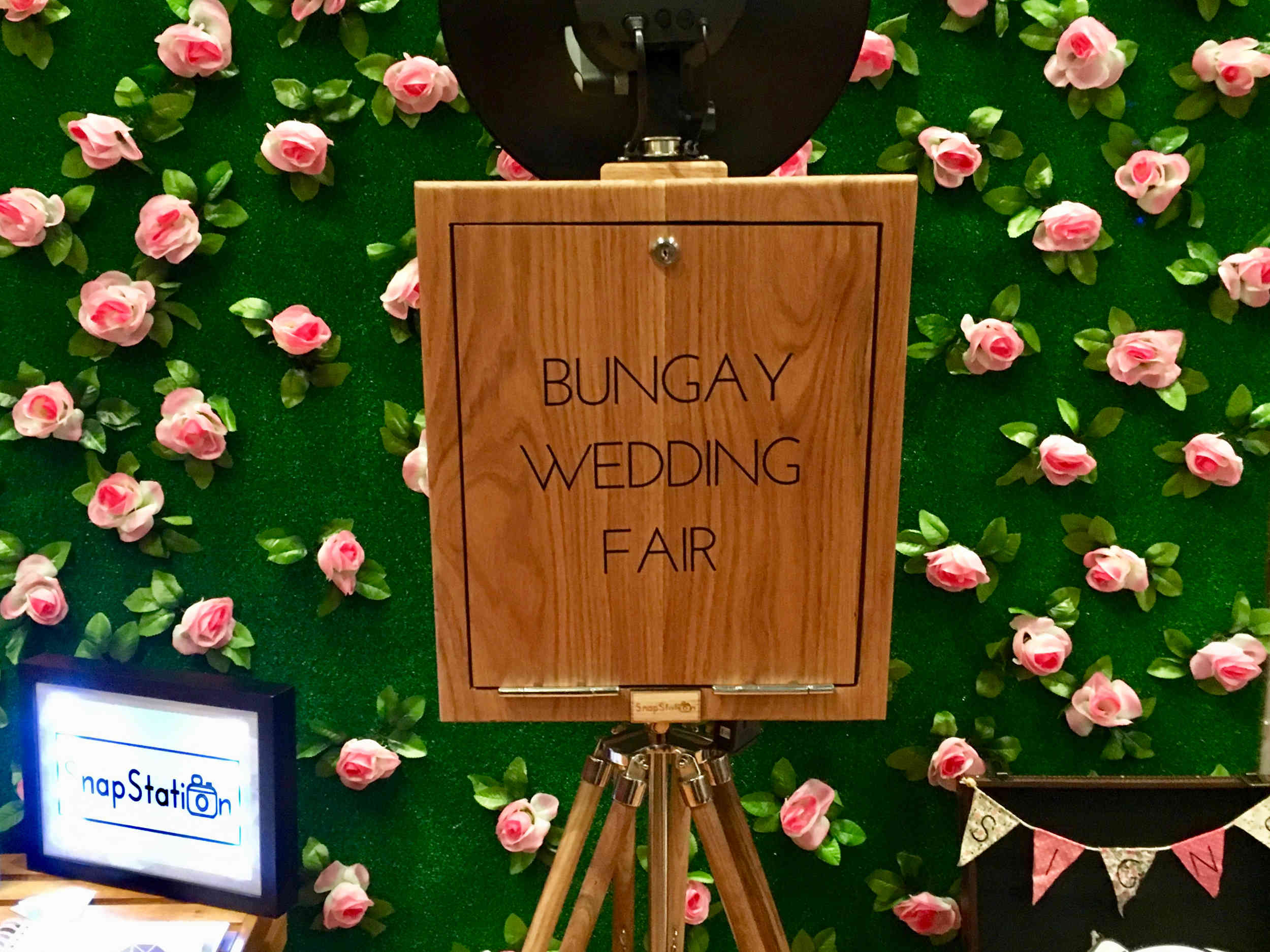 The Vintage retro photo booth - Wedding fair at Bungay, suffolk.