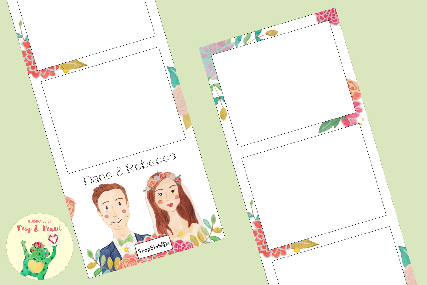 SnapStation - Newlyweds photo strip design.jpg