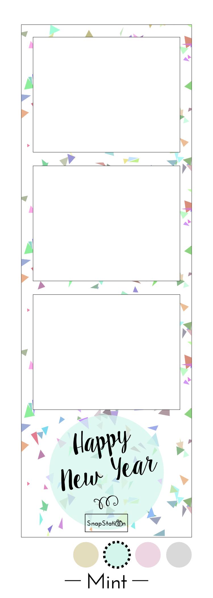 Photo strip confetti - Mint.jpg