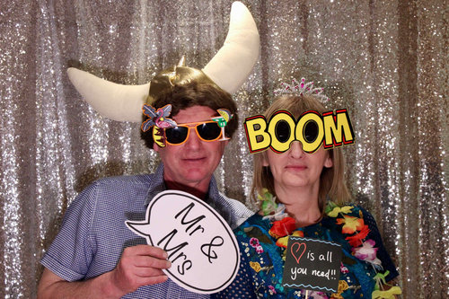 SnapStation photo booths Norfolk and Suffolk - Silver sequin