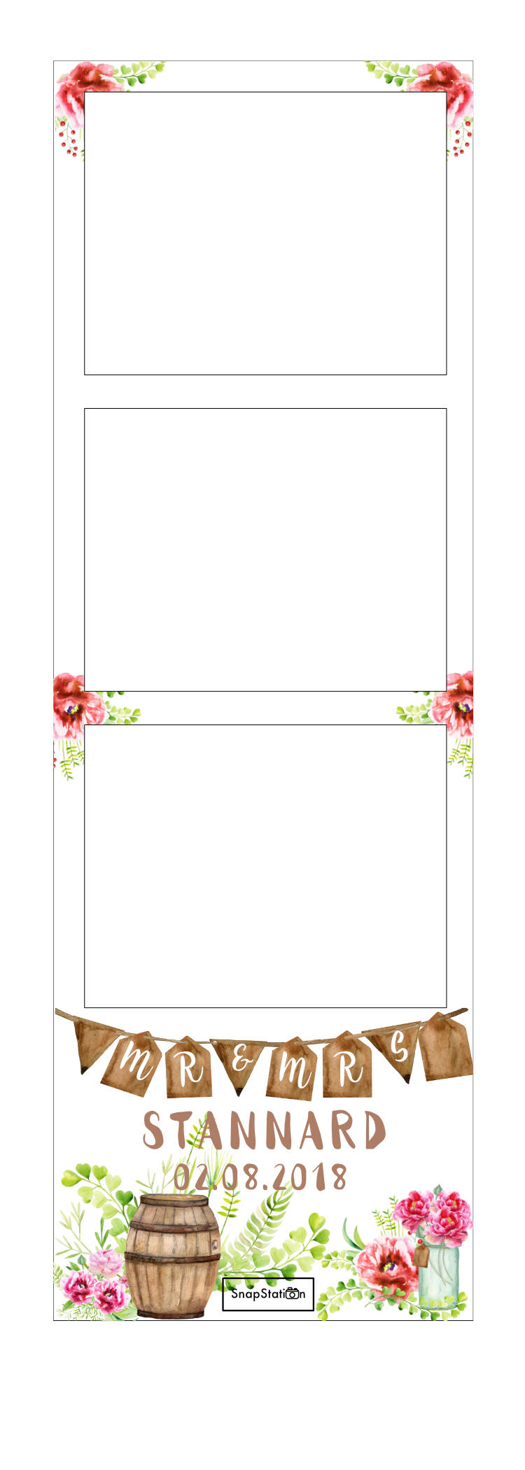 SnapStation Photo Booth Photo Strip - Rustic.jpg