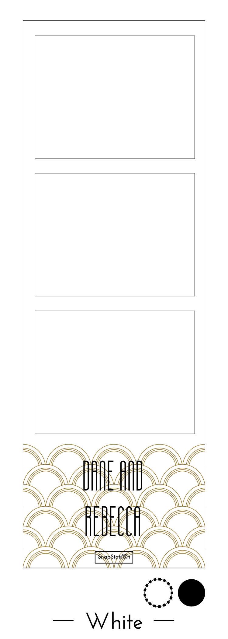 SnapStation Photo Booth Photo Strip - Deco White.jpg