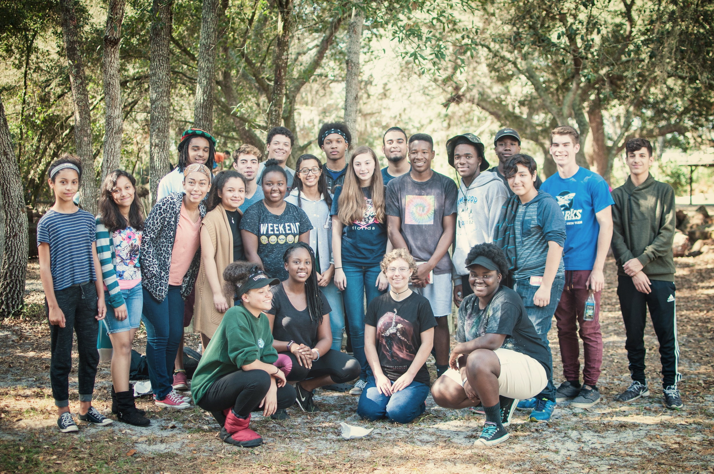 Different ages - Middle-Schoolers, High-Schoolers...
