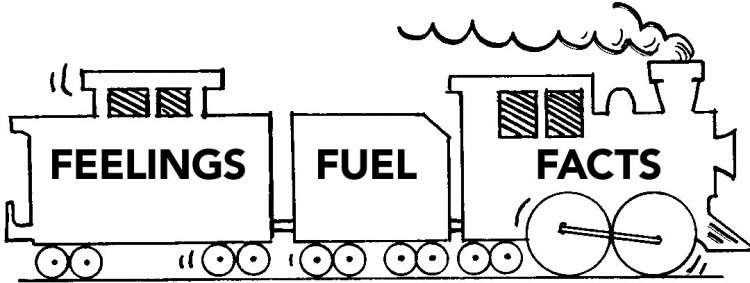 Fact Fuel Feelings Train
