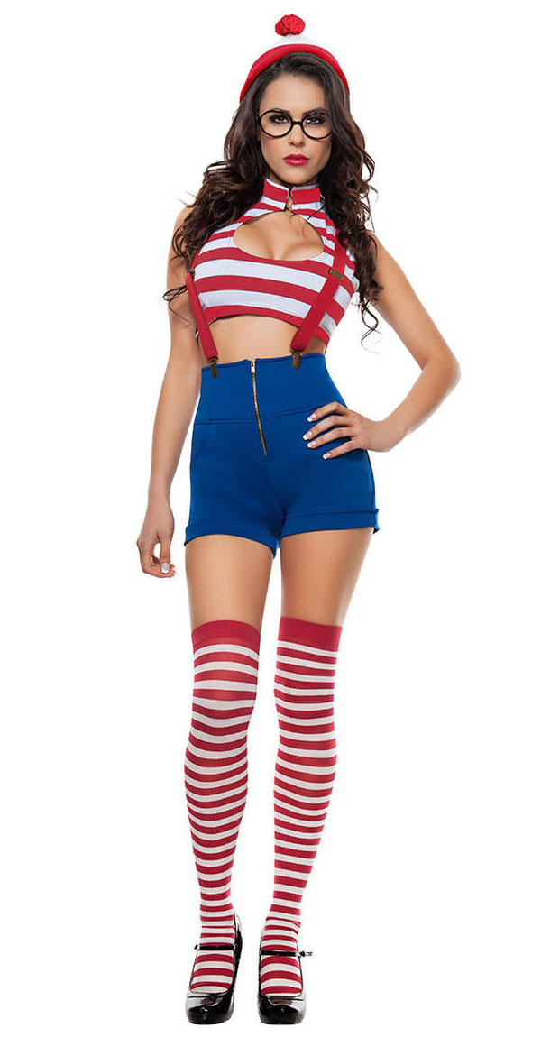 Sexy Halloween Costume Where's Waldo, raleigh plastic surgery, plastic surgery cary nc, breast implants raleigh nc, cary plastic surgery, breast implant, boobjob, silicone implants. breast surgery, plastic surgery boobs, augmented breasts, silicone boobs, average cost of boob job, breast implant sizes, boob implants, silicone breast implants, saline breast, cost of boob job