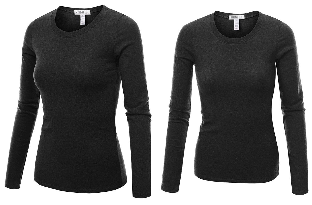 Long Sleeve Crew Neck by J.Tomson