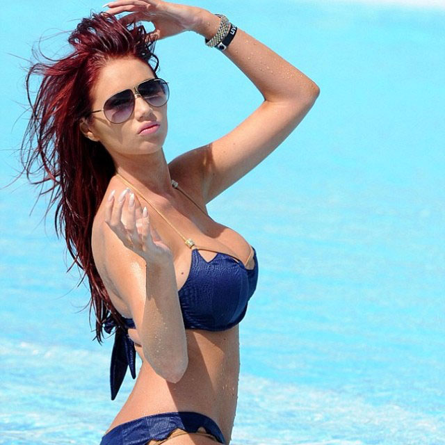 Amy Childs breast implants